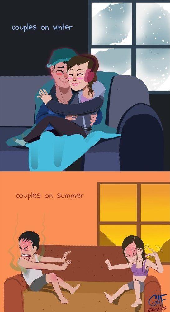 Winter vs summer www meme lol com