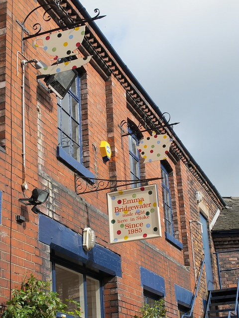 Emma Bridgewater Factory | Stoke-On-Trent, England and we all know who's from Stoke!