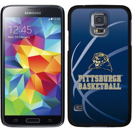 University of Pittsburgh Basketball Design on Samsung Galaxy S5 Thinshield Case by Coveroo, Black