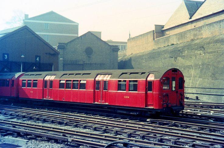1923 Standard Stock DM 5304. Drayton Park car sheds. 11.4.64