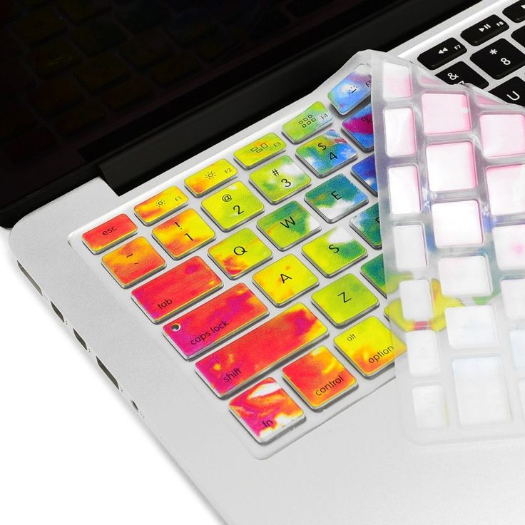 Tie Dye Ultra Thin Soft Silicone Keyboard Cover Skin for MacBook
