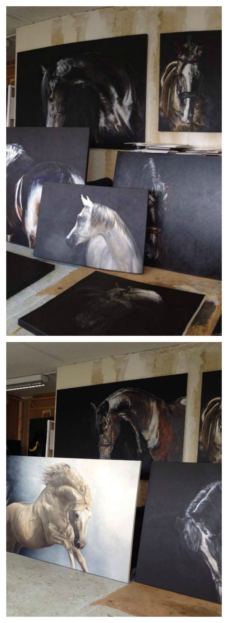 horse, Art studio Tony O'Connor whitetreestudio.ie . Please also visit www.JustForYouPropheticArt.com for colorful, inspirational art and stories. Thank you so much!