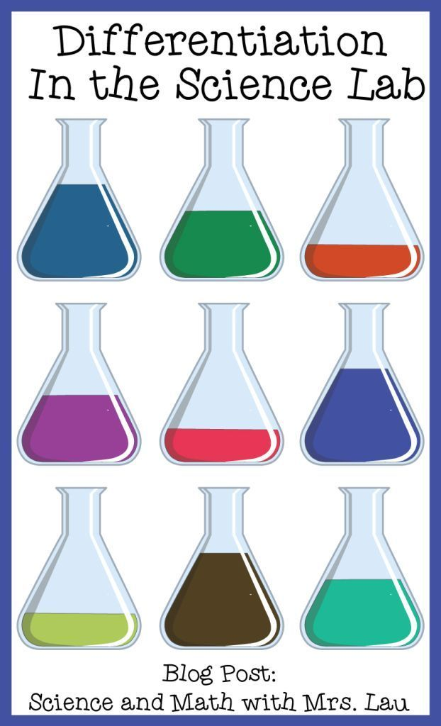 Differentiation in the Science Lab: Tips for inclusion teachers or teachers of students with special needs.  (Honestly these are tips to help any teacher with all of their students!) Blog post: Science and Math with Mrs. Lau