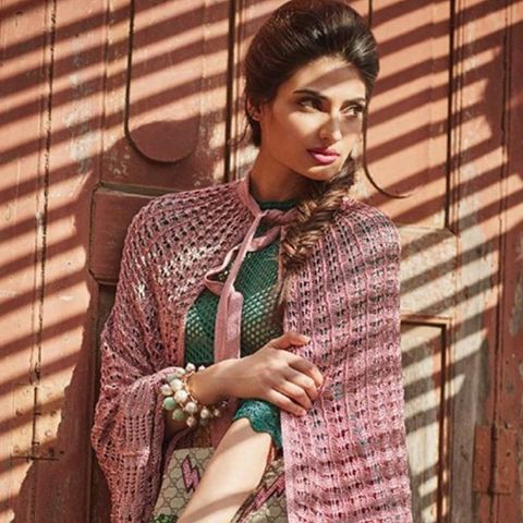 [Monday #Muse] Bollywood actress Athiya Shetty is flawless wearing Isharya Temple Muse pearl #cuffs for her shoot as Verve India's April cover star. Image via Celebs Fashion World.