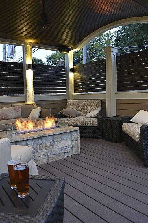Modern Deck - Find more amazing designs on Zillow Digs! via chicago roof deck and garden