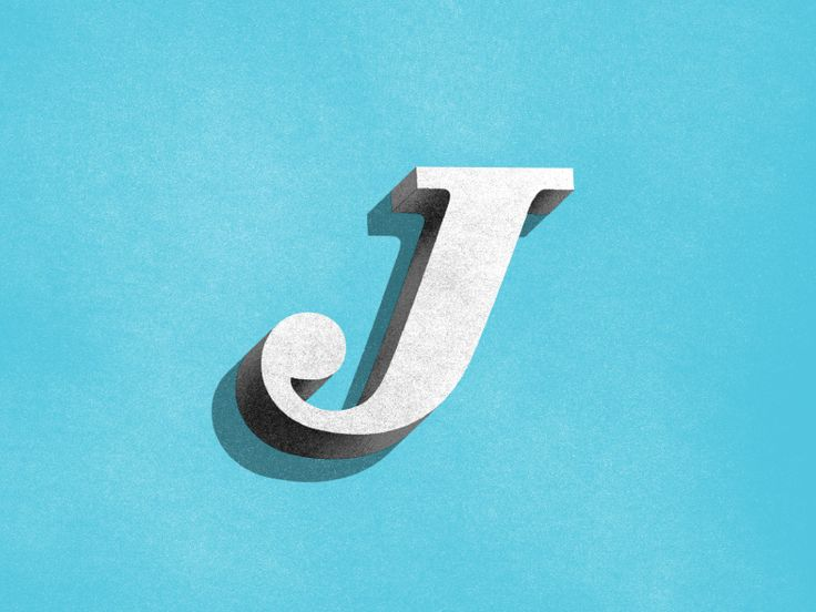visualvibs: J 3D by Jeremiah Chaney Twitter: @Trendgrafeed