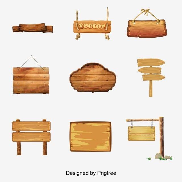 Varios Sinais De Madeira E Sinal De Materiais De Tabuleta Assinar Clipart Diversos De Madeira Png Imagem Para Download Gratuito Wooden Signs Wooden Business Signs Wooden