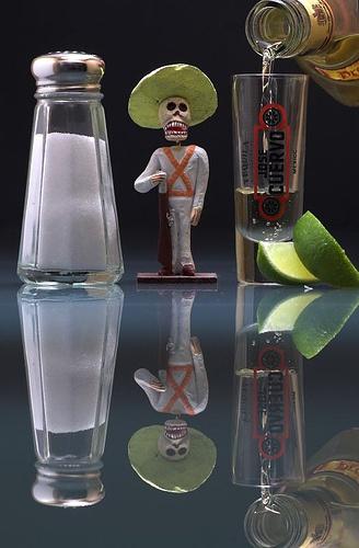 Tequila Bottle...   Viva Mexico. http://www.georginayoungellis.com/