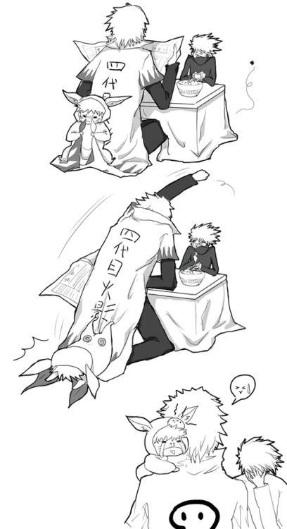 <3 Kakashi, Minato & Naruto