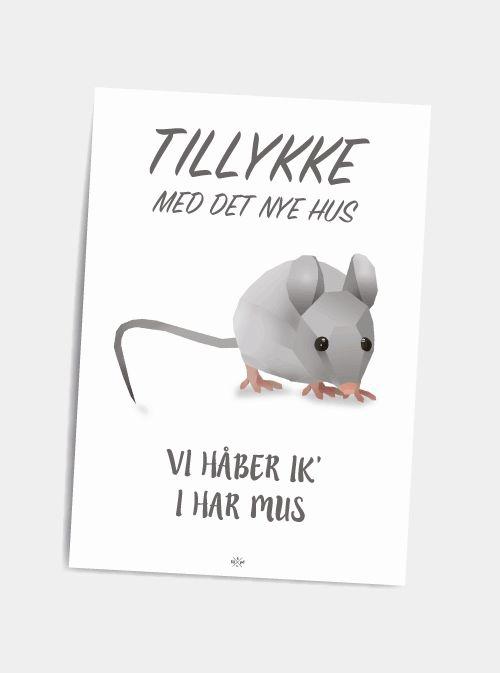 Mopset - postkort - Hipd.dk - sjove jokes og ordspil på plakater