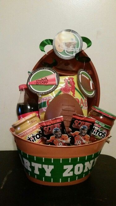 Football Raffle Basket                                                                                                                                                     More