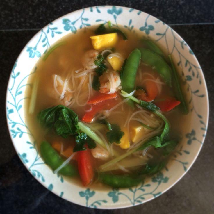 Thai Seafood Noodles