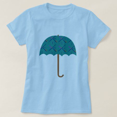 PDX Airport Carpet Umbrella T-Shirt - tap to personalize and get yours