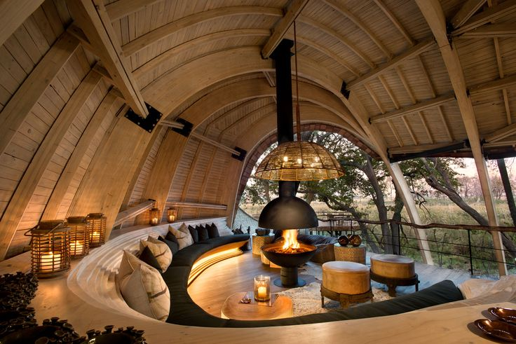 Where the Elephants Roam: Sandibe Safari Lodge by Fox Browne and Michaelis Boyd