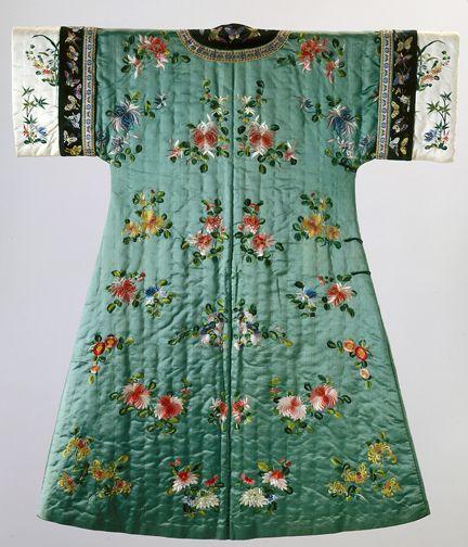 "Qing Dynasty, ""Woman's Semi-Formal Domestic Winter Coat"