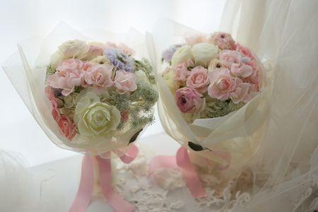 新郎新婦様からのメール 花束贈呈の花いろいろ : 一会 ウエディングの花
