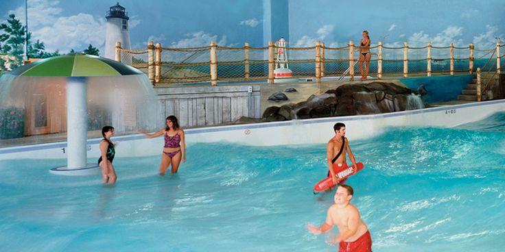 Indoor Wave Pool & Fitness Center   Cape Codder Resort