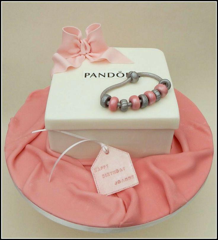 Pandora box cake