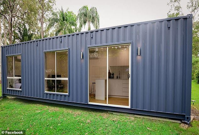How Mother Styled Her Family S 40 Foot Shipping Container With Kmart Shipping Container Homes Tiny House Movement Containers For Sale