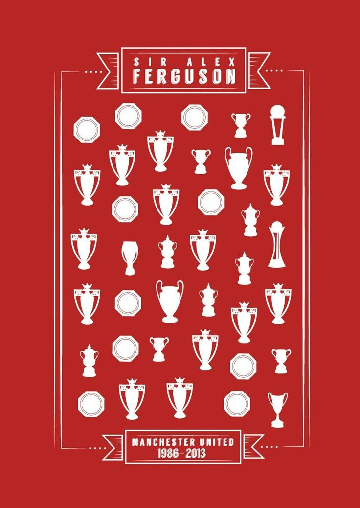 Sir Alex Ferguson Manchester United Print by KieranCarrollDesign, €10.00