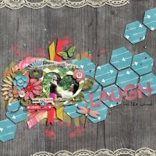 honeycomb by zoliofrope spring forward by ju kneipp painted glitter alpha by ju kneipp little sew & sew : chevrons v.2 by erica zane