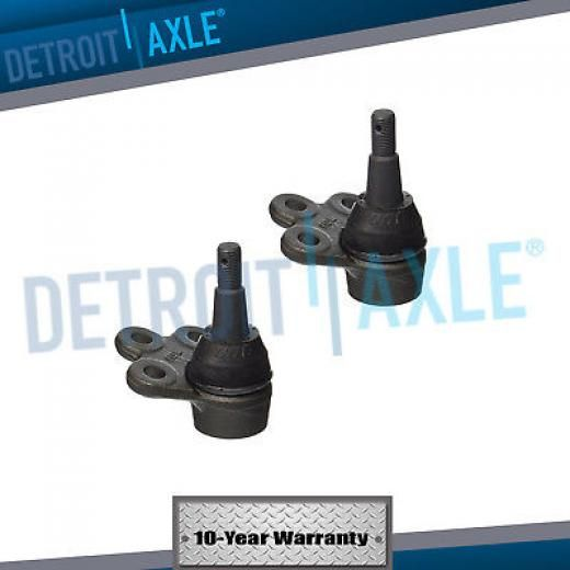 Detroit Axle Pair (2) New Front Suspension Lower Ball Joint