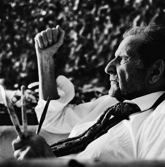 Anton Corbijn.  Lucian Freud