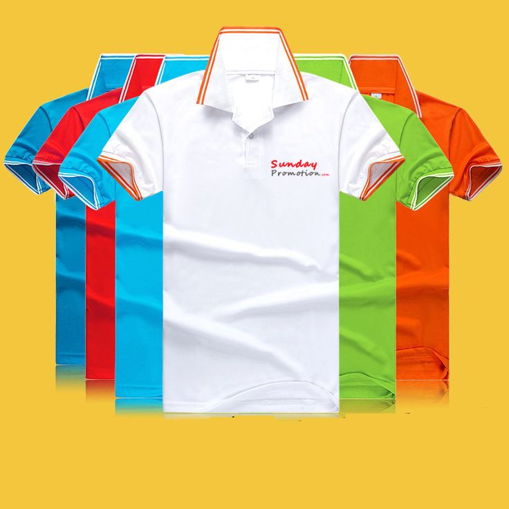 This is a 35% Cotton 7-oz White Trim Custom Polo Shirts, it is a middle quality shirt that suitable for free promotional gifts, at www.sundaypromotion.com