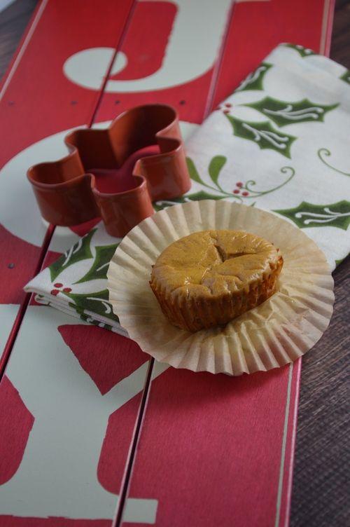Cheesecake Cups {Greek yogurt, Truvia, molasses, ginger, pumpkin spice ...