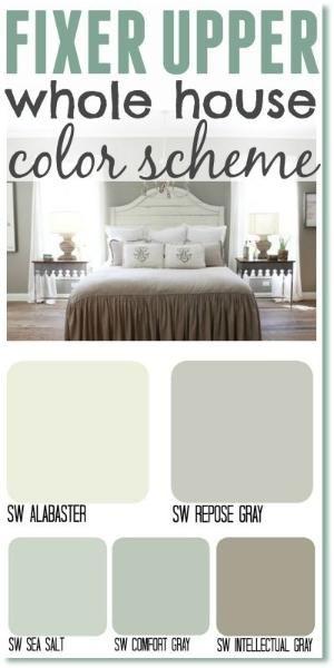 25 best ideas about fixer upper paint colors on pinterest - Joanna gaines interior paint colors ...