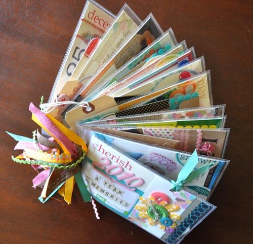 #papercraft #scrapbook #minialbum