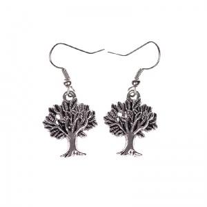 Forest genie's tree earrings