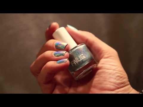 Pshiiit & Holographic Nail Polish by FNUG