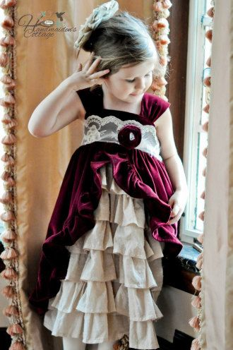 Tea Party Dress | YouCanMakeThis.com