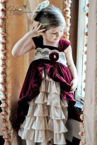Tea Party Dress | YouCanMakeThis.com
