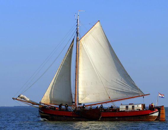 Nieuw in mijn Werk aan de Muur shop: Zeilschip