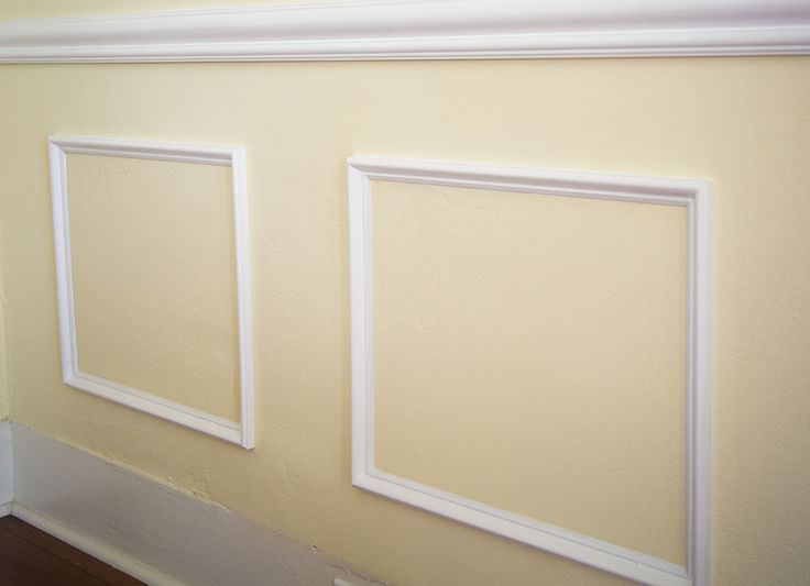 Faux wainscoting not only sounds regal, but can transform blank walls into something much more!