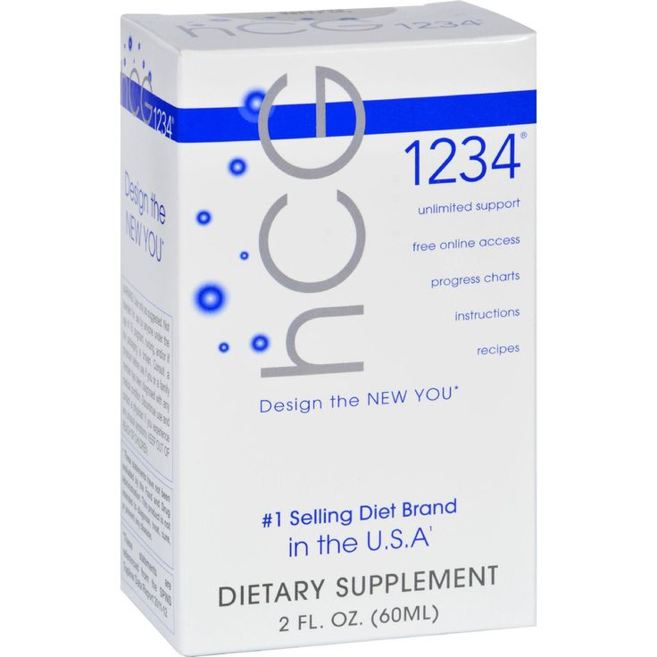 Creative Bioscience Hcg 1234 - Oral Diet Drops - 2 Oz
