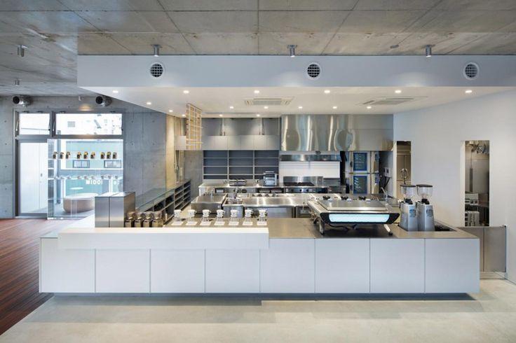Blue Bottle Coffee AOYAMA Cafe / Schemata Architects - divisão de espaços: possiblidade de diferentes cômodos