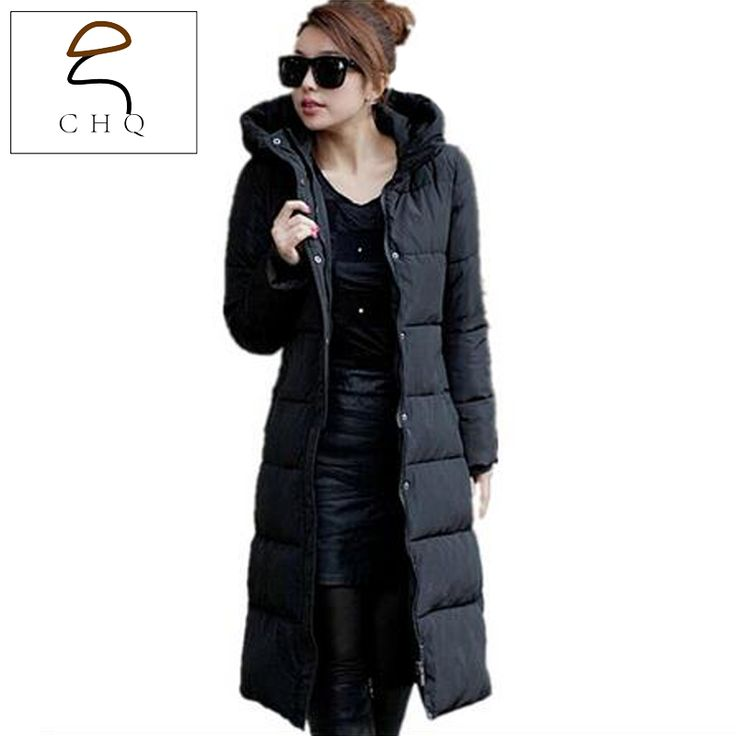 >> Click to Buy << 2016 Women's autumn and winter long coat thick padded Korean fashion trend jacket Slim coat jacket large size women #Affiliate