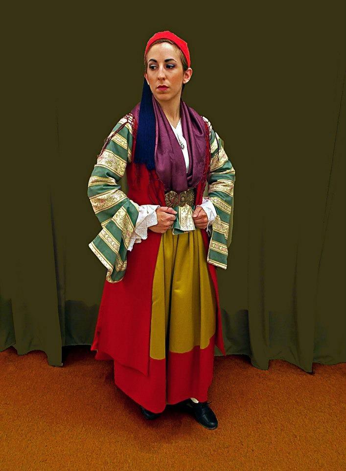 Costume from Leonidio - Greece