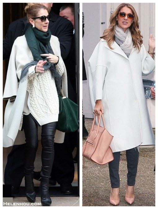 Winter White: Oversized Coat & Ladylike Accessories » The Art of ...