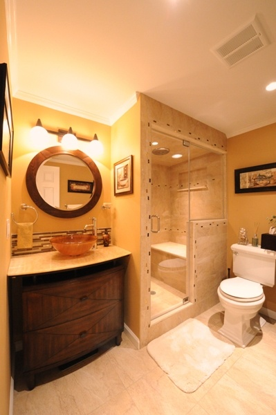 Bathroom Mirror Non Steam 27 best circle mirror bathroom images on pinterest | mirror