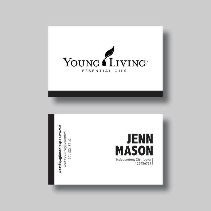 146 best bell graphic design images on pinterest business cards young living essential oils business card stripe digital design reheart Choice Image