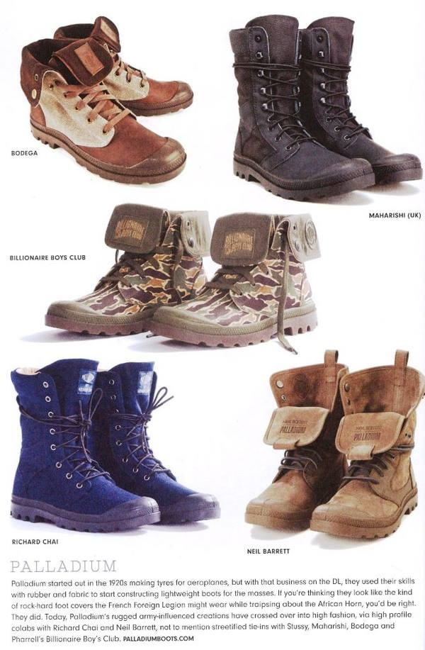 Rugged city boots
