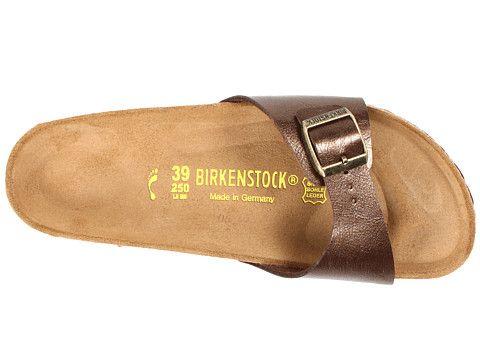 Madrid slip on bright patent birko flor trade, Birkenstock, Shoes, White