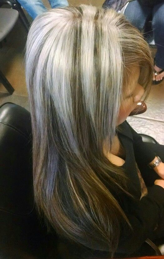 Platinum Hair With Silver Highlights Hairs Picture Gallery