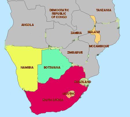 136 best AfrS S Africa Namibia Botswana Lesotho Swaziland