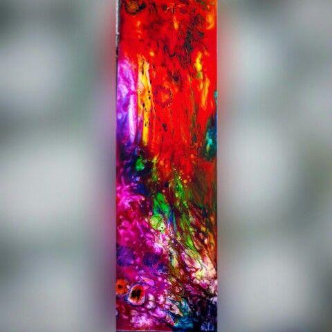 #Abstract #resinart #artresin #epoxy. Cube pinstriper.pl