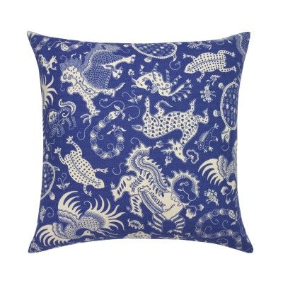 Periwinkle Indramayu Pillow